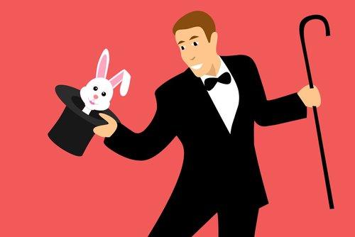 magician  circus  rabbit