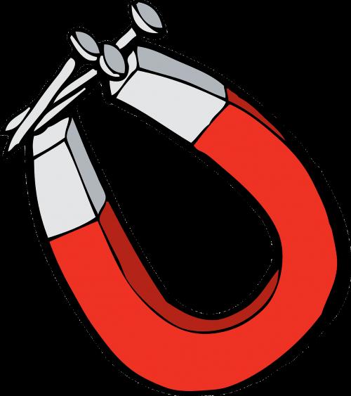 magnet horseshoe nails