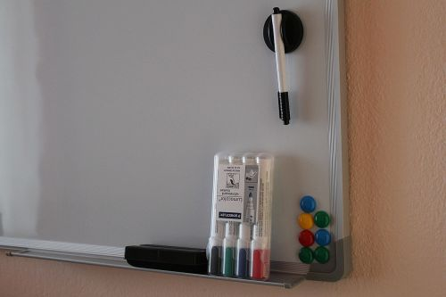 magnetic board whiteboard marker