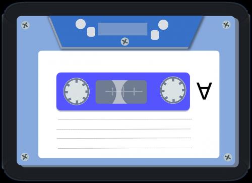 magnetic tape audio cassette