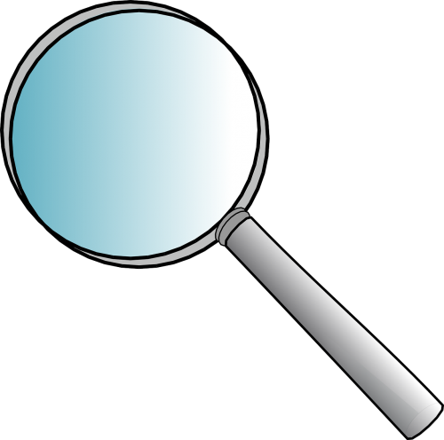 magnifier glass office