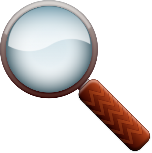 magnify loupe lense