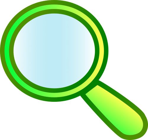 magnify action glass