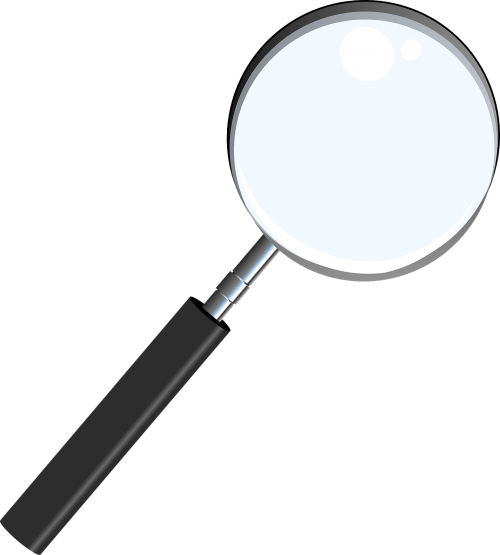magnifying glass optical