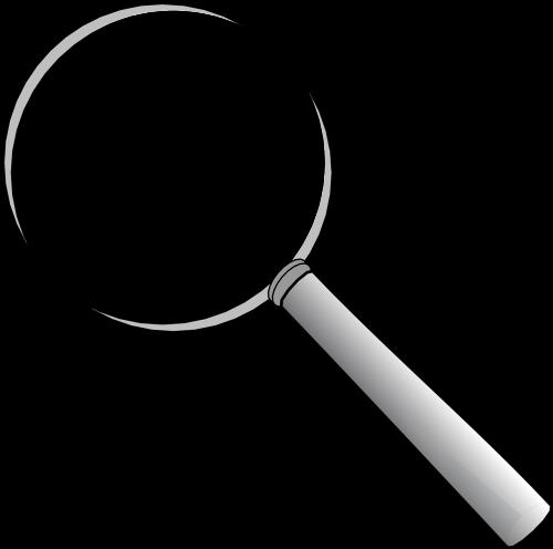 magnifying lense glass