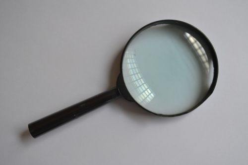 magnifying glass glass increase