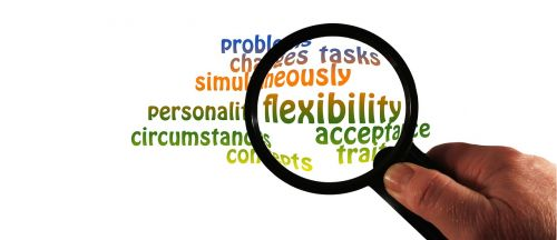 magnifying glass flexibility personality