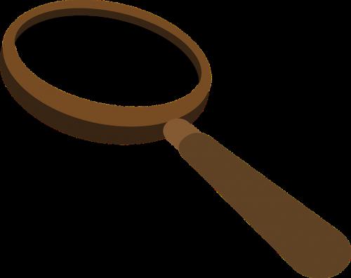 magnifying glass lense loupe