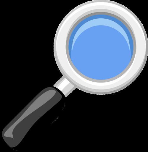 magnifying glass loupe lense