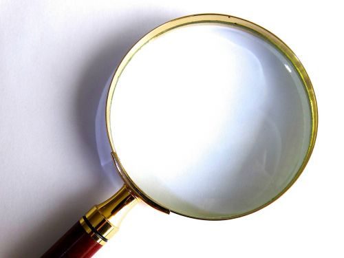 magnifying glass magnification larger view