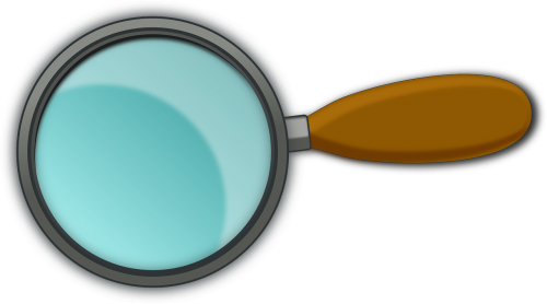 magnifying glass magnifying lens magnifier