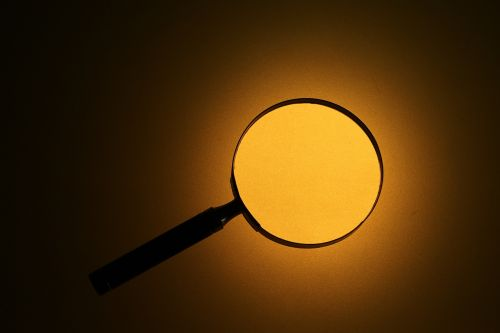 magnifying glass twilight search