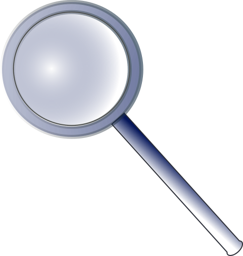 magnifying lens glass tool