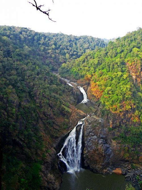 magod falls western ghats water fall