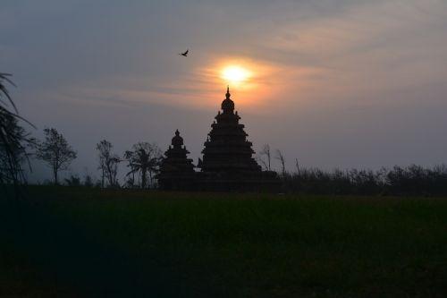 mahabalipuram sunrise shore temple