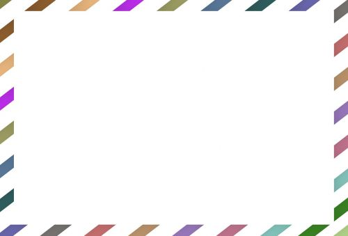 mail mail border quotes background