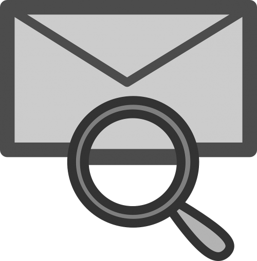 mail locate icon