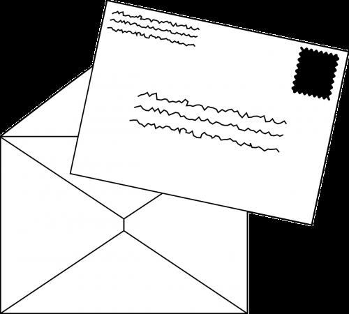 mail stamp envelope