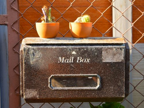 mail box postage mail