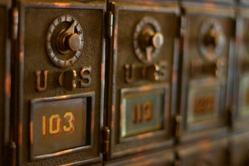 mail box us 103