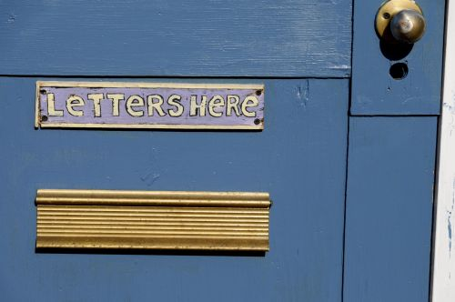 Mail Slot For Santa's Letters