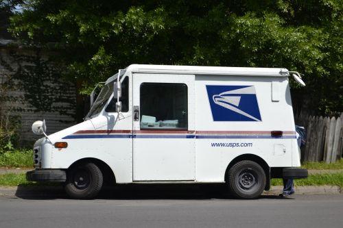 mail truck mail clerk mailman