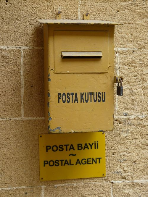 mailbox cyprus letter boxes