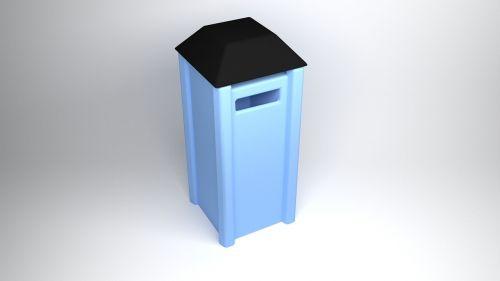 mailbox 3d computer graphics