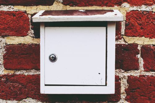 mailbox letter box wall