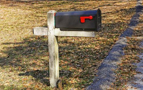mailbox mail old mailbox post