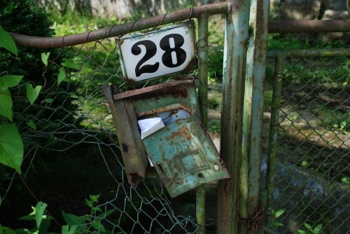 mailbox 28 letter box