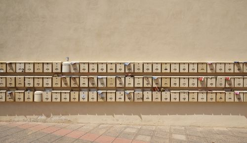 mailbox post letter boxes