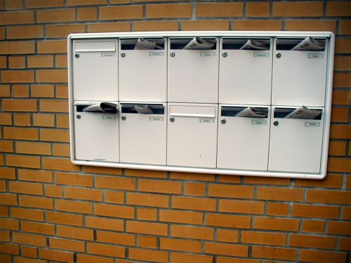 mailbox letter boxes newspaper