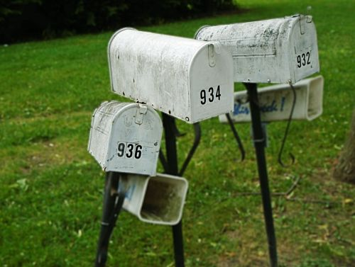 mailbox postbox letterbox