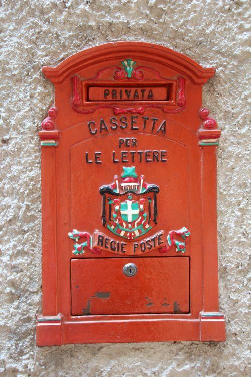 mailbox italy post