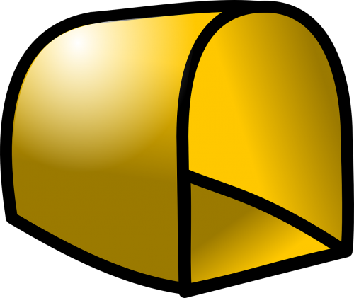mailbox empty gold
