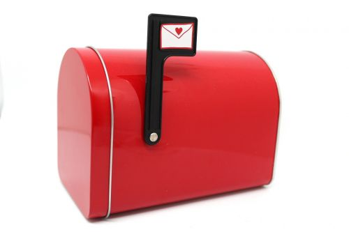 mailbox red mail