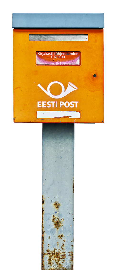 mailbox letter boxes post horn
