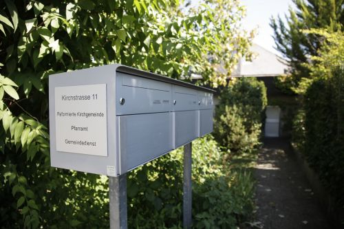 mailbox input letter boxes