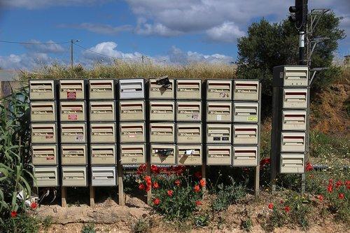 mailbox  post  post mail box