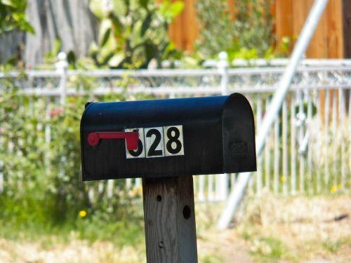 mailbox number postal