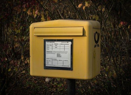 mailbox  germany  post
