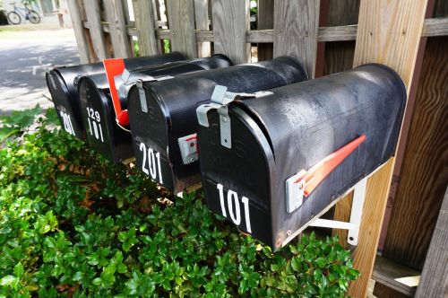 mailbox outdoor mail