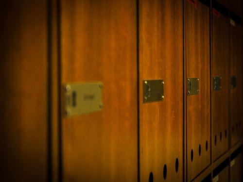 mailbox wood postbox