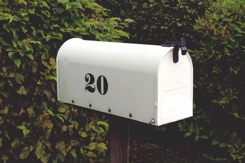 mailbox number twenty