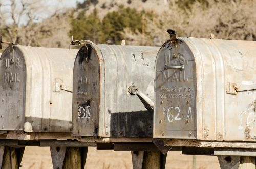 mailboxes mailbox mail