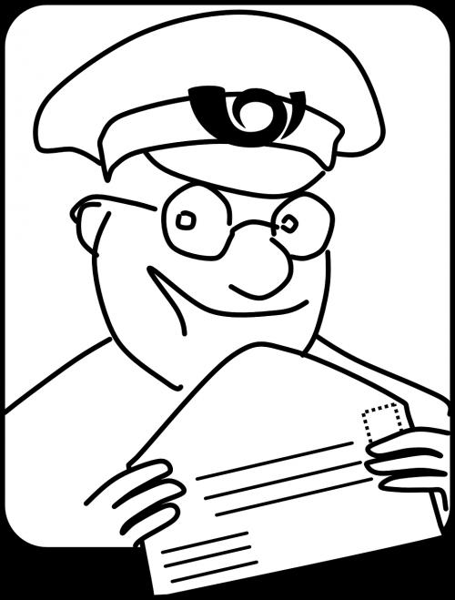 mailman postman mail