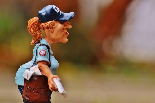 mailwoman civil servant letters