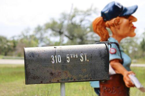 mailwoman postman mailbox