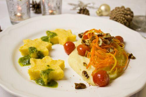 main course menu vegetables